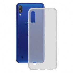 Custodia per Cellulare Samsung Galaxy M10 KSIX Flex TPU Trasparente Flessibile KSIX - 1