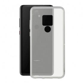Mobile cover Huawei Mate 20 KSIX Flex Transparent KSIX - 1