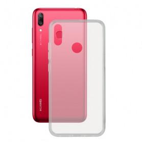 Mobile cover Huawei Y7 2019 KSIX Flex Transparent KSIX - 1