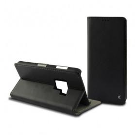 Funda Folio para Móvil Galaxy S9 Plus KSIX Slim Negro KSIX - 1