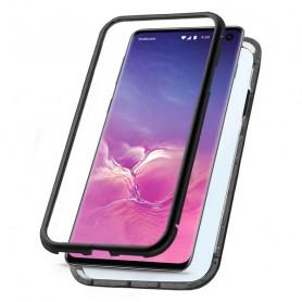 Mobile cover Samsung Galaxy S10 KSIX Black KSIX - 1