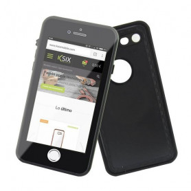 Handyhülle Iphone 7/8 KSIX Schwarz (Tauchfähig) KSIX - 1