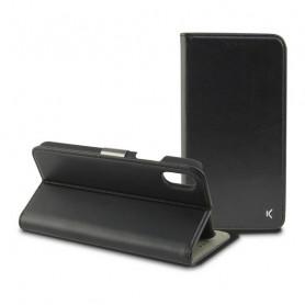 Custodia Folio per Cellulare Iphone Xs KSIX Nero KSIX - 1