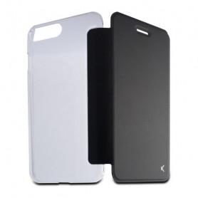 Handyhülle mit Folie Iphone 8 Plus KSIX Crystal Schwarz KSIX - 1