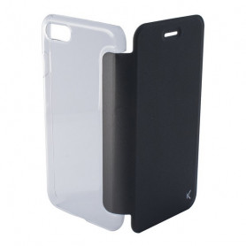 Custodia Folio per Cellulare Iphone 8 KSIX Crystal Nero KSIX - 1
