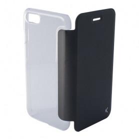Handyhülle mit Folie Iphone 8 KSIX Crystal Schwarz KSIX - 1