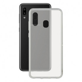 Mobile cover Galaxy A30 KSIX Flex Transparent KSIX - 1