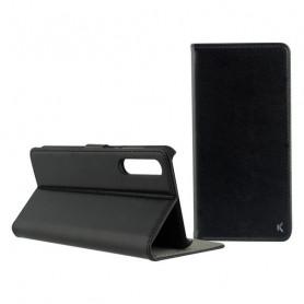 Funda Folio para Móvil con Imán Xiaomi Mi9 KSIX Negro KSIX - 1
