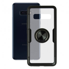 Housing with ring Galaxy S10e KSIX 360 Ring Transparent KSIX - 1