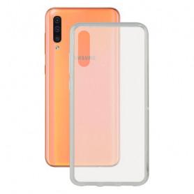 Mobile cover Galaxy A50 KSIX Flex Transparent KSIX - 1