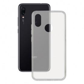 Custodia per Cellulare Xiaomi Redmi 7 KSIX Flex Trasparente KSIX - 1