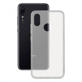 Custodia per Cellulare Xiaomi Redmi Note 7 KSIX Flex Trasparente KSIX - 1