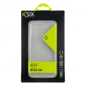 Custodia per Cellulare Xiaomi Mi A2 Lite KSIX Flex Trasparente KSIX - 1