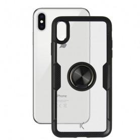 Housing with ring Iphone KSIX Transparent KSIX - 1