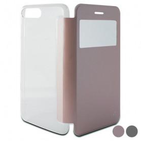 Funda Folio para Móvil Iphone 8 Plus/7 Plus KSIX Crystal View KSIX - 1