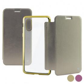 Custodia Folio per Cellulare Iphone X/xs KSIX KSIX - 1