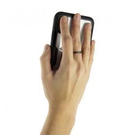 Cover con Anello Iphone KSIX Trasparente KSIX - 1