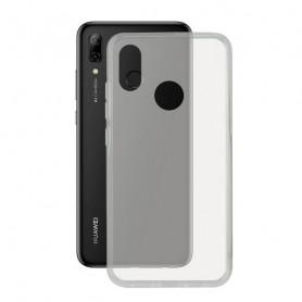 Mobile cover Huawei P Smart Plus 2019 KSIX Flex TPU Transparent KSIX - 1