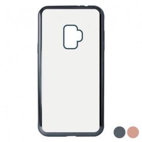 Mobile cover Samsung Galaxy S9 KSIX Flex Metal TPU Flexible KSIX - 1