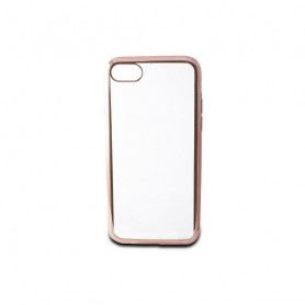Handyhülle Iphone 7/8 Contact Flex Metal TPU Durchsichtig Rotgold Metallic Contact - 1