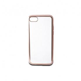 Mobile cover Iphone 7/8 Contact Flex Metal TPU Transparent Rose gold Metallic Contact - 1