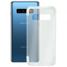 Funda para Móvil Samsung Galaxy S10+ KSIX Armor Extreme Transparente KSIX - 1