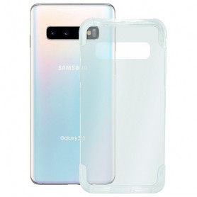 Mobile cover Samsung Galaxy S10 KSIX Armor Extreme Transparent KSIX - 1