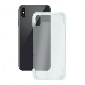 Mobile cover Iphone Xs Max KSIX Flex Armor Transparent KSIX - 1