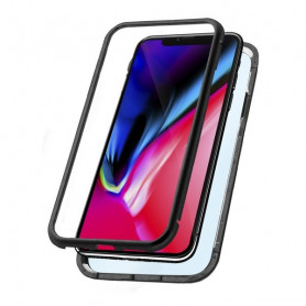 Etui Iphone Xr KSIX Magnetic Schwarz KSIX - 1