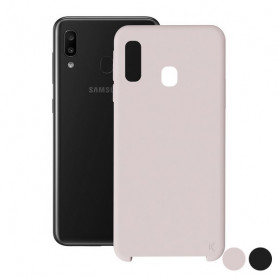 Mobile cover Samsung Galaxy A30 KSIX Soft KSIX - 1