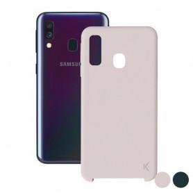 Custodia per Cellulare Samsung Galaxy A40 KSIX Soft KSIX - 1