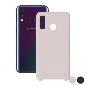 Mobile cover Samsung Galaxy A40 KSIX Soft KSIX - 1