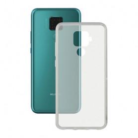 Mobile cover Huawei Mate 30 KSIX Flex Transparent KSIX - 1