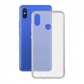 Mobile cover Xiaomi Mi Max 3 KSIX Flex Transparent KSIX - 1