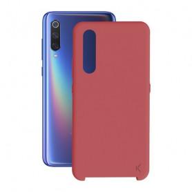 Mobile cover Xiaomi Mi 9 KSIX Soft Red KSIX - 1