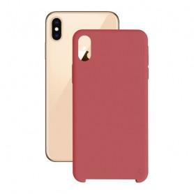 Custodia per Cellulare Iphone Xs Max KSIX Soft Rosso KSIX - 1