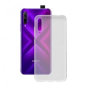 Mobile cover Honor 9x KSIX Flex Transparent KSIX - 1