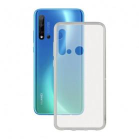 Mobile cover Huawei Nova 5i KSIX Flex Transparent KSIX - 1