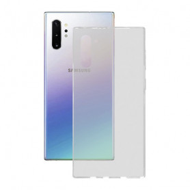 Funda para Móvil Samsung Galaxy Note 10 Pro KSIX Flex Transparente KSIX - 1