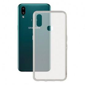 Handyhülle Samsung Galaxy A10s KSIX Flex TPU Durchsichtig KSIX - 1