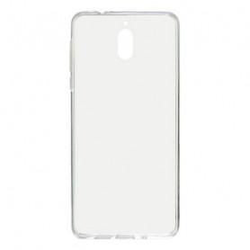 Custodia per Cellulare Nokia 3.1 KSIX Flex TPU Trasparente KSIX - 1