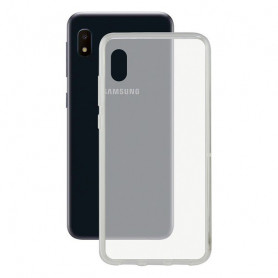 Handyhülle Samsung Galaxy A10e KSIX Flex TPU Durchsichtig KSIX - 1