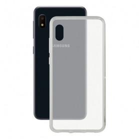 Mobile cover Samsung Galaxy A10e KSIX Flex TPU Transparent KSIX - 1