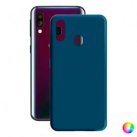 Handyhülle Samsung Galaxy A40 Contact Silk TPU Contact - 1