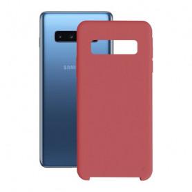 Handyhülle Samsung Galaxy S10+ KSIX Soft Rot KSIX - 1