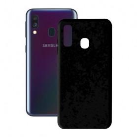 Handyhülle Samsung Galaxy A40 KSIX Soft Cover TPU Schwarz KSIX - 1