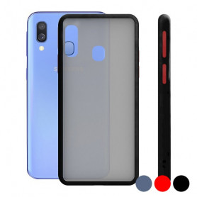 Custodia per Cellulare Samsung Galaxy A40 KSIX Duo Soft KSIX - 1