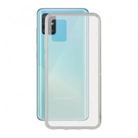 Custodia per Cellulare con Bordo TPU Samsung Galaxy A71 KSIX Flex KSIX - 1