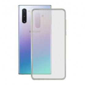 Funda para Móvil con Borde de TPU Samsung Galaxy A81 KSIX Flex Transparente KSIX - 1