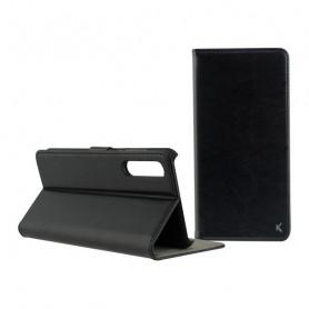 Handyhülle mit Folie Xiaomi Mi Note 10/mi Note 10 Pro KSIX Standing Schwarz KSIX - 1